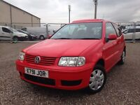 Volkswagen Polo 1.4 MATCH (red) 2000