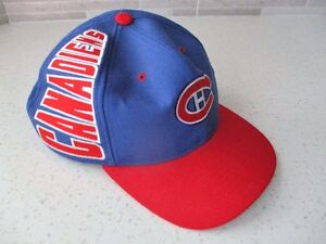 "AN AUTHENTIC L ""CCM"" MONTREAL CANADIANS BASEBALL CAP~NEW!"