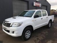 2012 Toyota Hilux 2.5 D4-D HL2 Double Cab 4x4 Diesel Pickup * 61k *