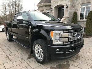 FORD F250 DIESEL PLATINUM SUPER DUTY 6.7 LITRES 2017