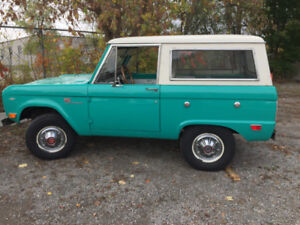 SELLING 1966-1977 FORD BRONCO PARTS