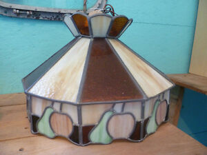 Tiffany Style Stain Glass Hanging Light Fixture