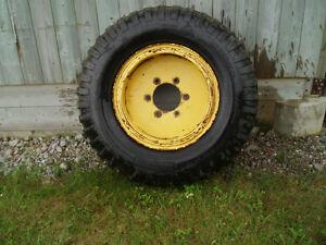 9.00-20 vintage military tires for sale Peterborough Peterborough Area image 2
