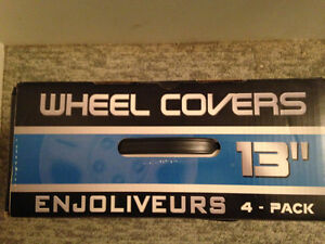 Wheel Covers Set - 1 missing as ONLY needed 1 at the time bought