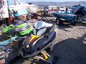 Snowmobile Wrecking Yard