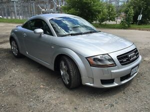 2006 Audi TT black leather Coupe (2 door)