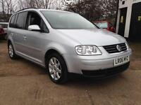 2006 Volkswagen Touran 1.9TDI SE 7 Seater Long Mot
