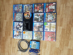 PlayStation 4 with 15 games