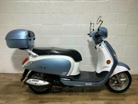 Sym Fiddle 2014 125 125CC SPARES OR REPAIR SCOOTER RIDES WELL NEW MOT CLEAN BIKE