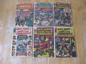 SGT. Fury comics-1960s and 70s