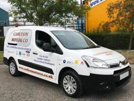 2012/ 62 Citroen Berlingo 1.6HDi 90 Crew Van L2 725 X [ NO VAT TO PAY ] T/SLD