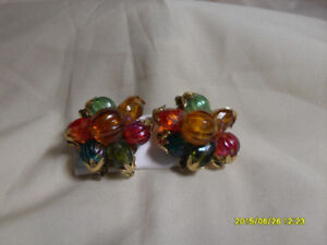 Vintage Clip on Earrings - $10 each or 3 for $25.00
