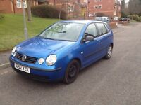 2003 Volkswagen Polo 1.2 Manual transmission with new clutch. Runs great. AC/Heat. Stereo.