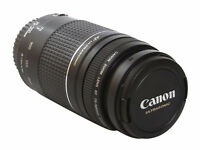 Canon EF75-300mm F/4-5.6 III USM LENS ULTRASONIC JAPAN Like New