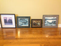 Assorted Framed Pictures (3 Group of Seven)