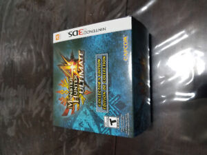Monster hunter 4 Utimate collector édition