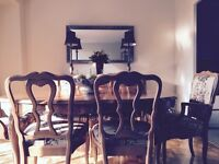 French Provincial Dining Room Suite
