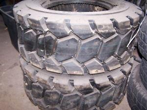 Brand New Set of 2 12x16.5 Skidsteer Tires -- 14 ply