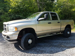 Lifted 2003 Dodge ram 2500 laramie cummins diesel 4x4