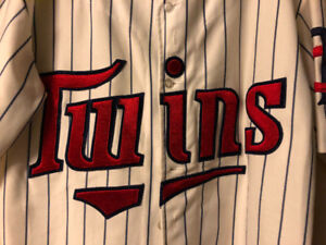 Twins jersey vintage retro size Large (30 years old)