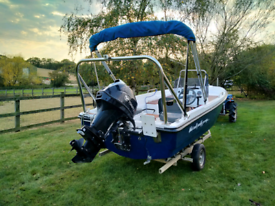 Fishing Boat Dell Quay Dory 15 - NEW Tohatsu 40hp Outboard & FITOUT
