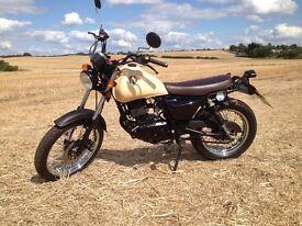 2013 Sinnis Trackstar 125cc Motorbike