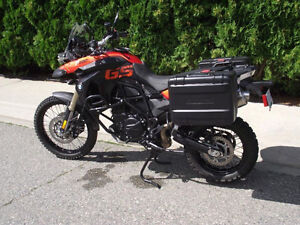 ☛☛☛☛ Immaculate 2010 BMW F800GS with Extras -Very Low KM ☚☚☚☚