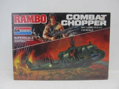 Vintage Monogram RAMBO Combat Chopper model