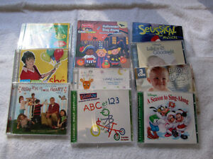 Young Children's Music - 10 CDs