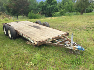 6 x 14 flatbed trailer for sale