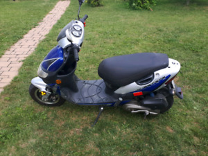 Mobylette (scooter) Keeway Hurricane 50