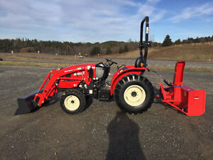 The Perfect Size ! 3015 Branson 30HP Compact tractor /snowblower