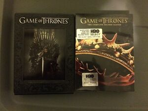 GAME OF THRONES SEASONS 1 AND 2!