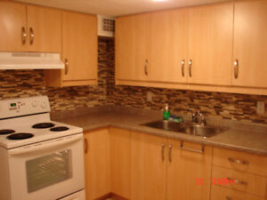 Very nice & bright 1 BR Basement Apt 5 min walk to GO Pickering