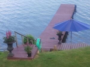 Riverfront house for rent