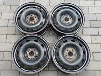 Roues d'acier pour Volkswagen