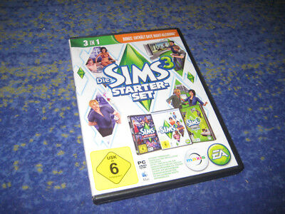 Sims 3 Starter-Set Basisspiel + Late Night + Luxus-Acc PC & MAC  Acc-pc