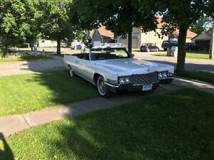 1969 Cadillac Coupe Deville Convertible-Estate Sale