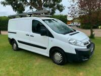 2012 White Citroen Dispatch 1000 1.6 HDi 90 H1 Van NO VAT FREE 6 MONTH WARRANTY