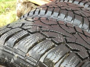 "Winter tires 205/55/16, bolt pattern 5 and 4""(101.6mm)"