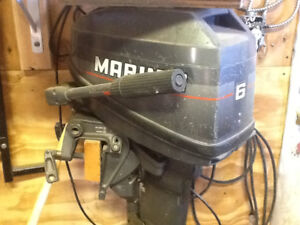 6 hp mariner outboard with tank
