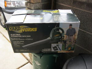 Yard Works Blower Vac (new)