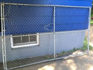 10X6 CHAIN LINK FENCE GATE