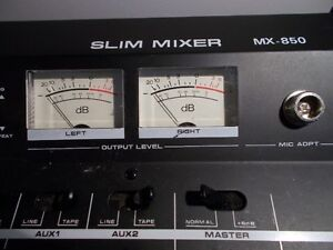 Mixer audio-Slim mixer MX-850 Saint-Hyacinthe Québec image 3