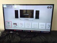 """Lg 42"""" smart led full hd freeview tv"""