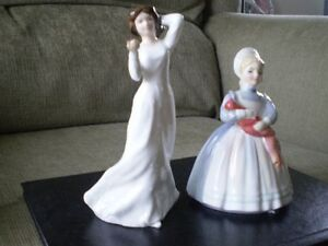 "Royal Doulton Figurines -""With Love"" HN3393 & ""Rag Doll"" HN2142 Kitchener / Waterloo Kitchener Area image 2"