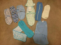 8 BRAND NEW NEVER WORN swaddlers