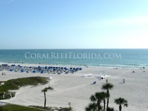 St Pete Beach Florida Jan 27 - Feb 3  Two Bedroom Condo on Beach