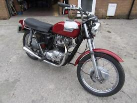 TRIUMPH TR6 650CC MATHCING NUMBERS 1973