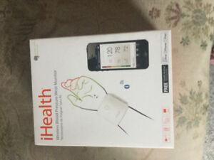Ihealth wrist blood pressure monitor....